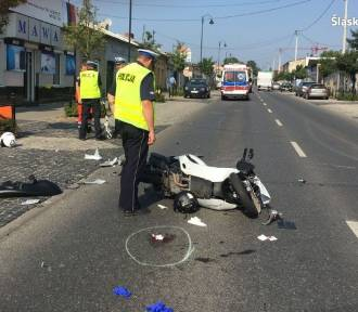 Tragiczny wypadek. Zginął 41-letni motocyklista [ZDJĘCIA]