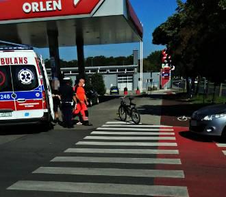 Głogów: Potrącenie rowerzysty przy ul. Kazimierza Wielkiego