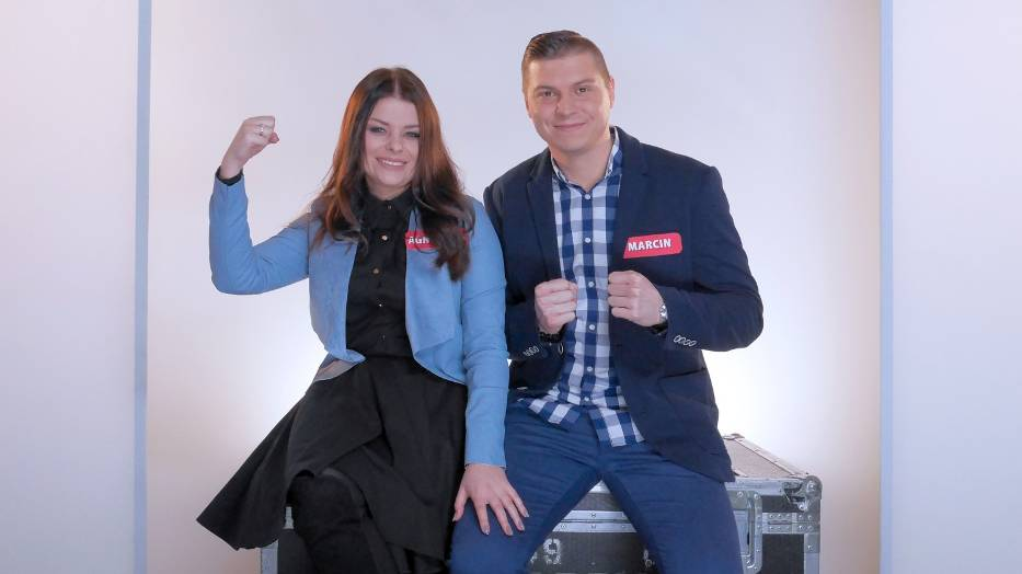Marcin Podemski i Agnieszka Durlik