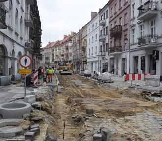 Remont ulic w kaliskim Śródmieściu. Zamkowa na finiszu, Śródmiejska wciąż w remoncie