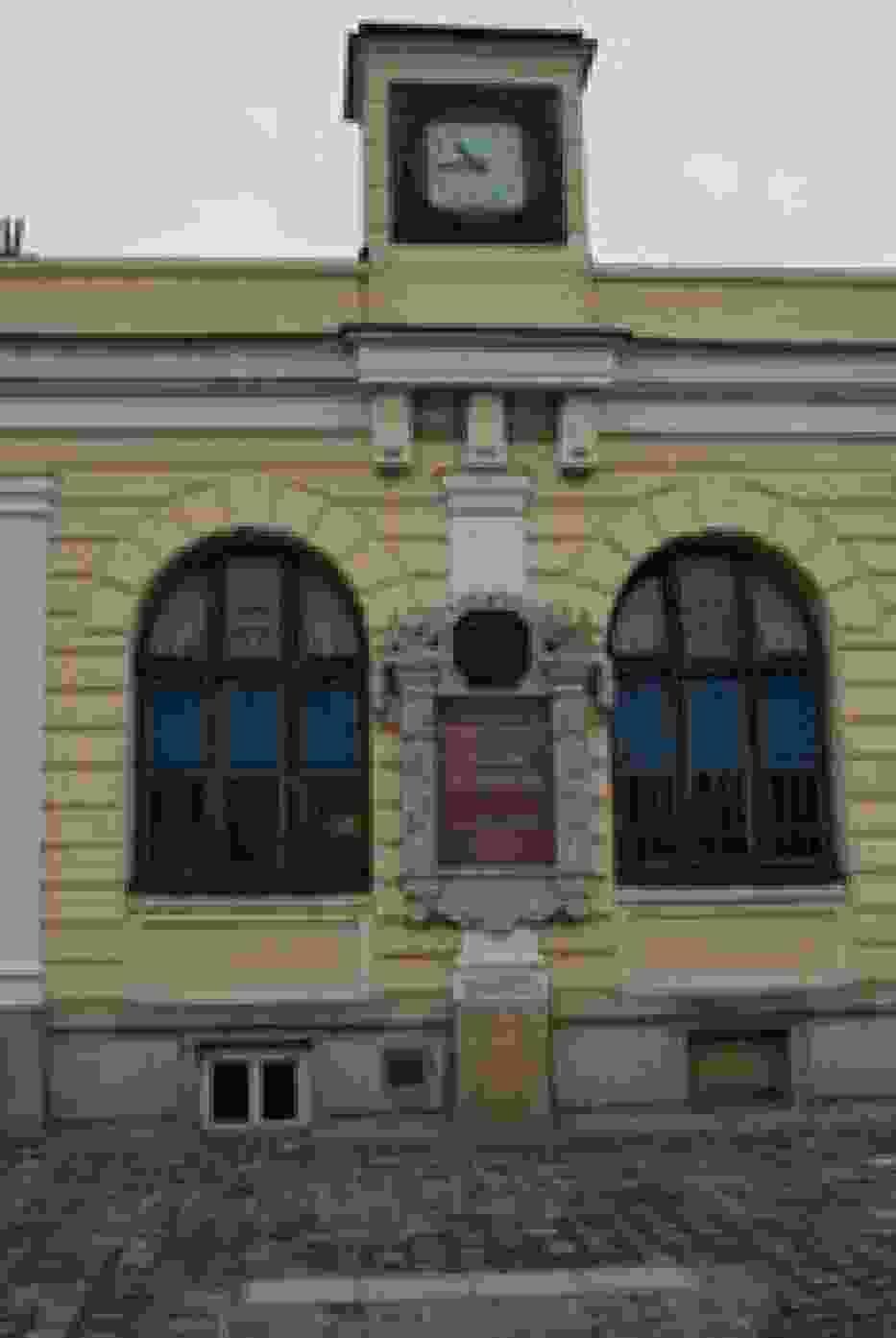 Stary budynek dworca PKP Kraków - Główny