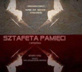 Sztafeta Pamięci 1 września na trasie Wieluń-Burzenin-Sieradz. Organizatorzy czekają na zgłoszenia
