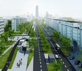 Ruszyły prace na ulicy Górczewskiej. Będzie bezpiecznie, komfortowo i zielono [WIZUALIZACJE]