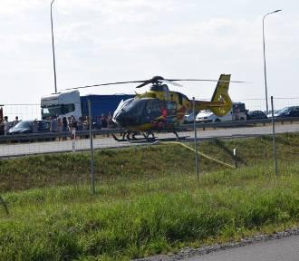 W wypadku na S7 zginęły 2 osoby: 7-letni chłopiec i 31-latka