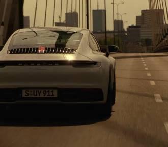 Porsche w Warszawie. Sportowe 911 na ulicach stolicy w niezwykłej reklamie
