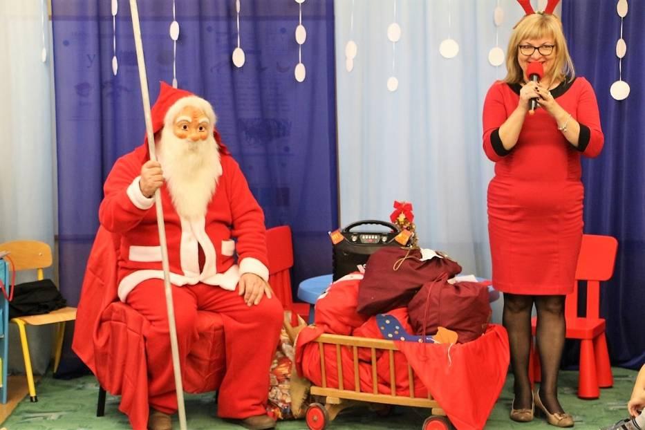 Święty Mikołaj przyjechał do Przedszkola nr 2 w Złotowie