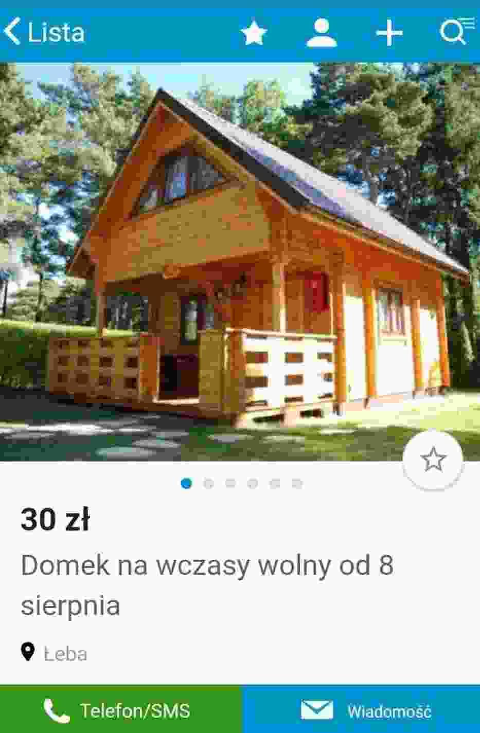 fałszywe kwatery w Łebie oszukani mieszkańcy powiatu piotrkowskiego
