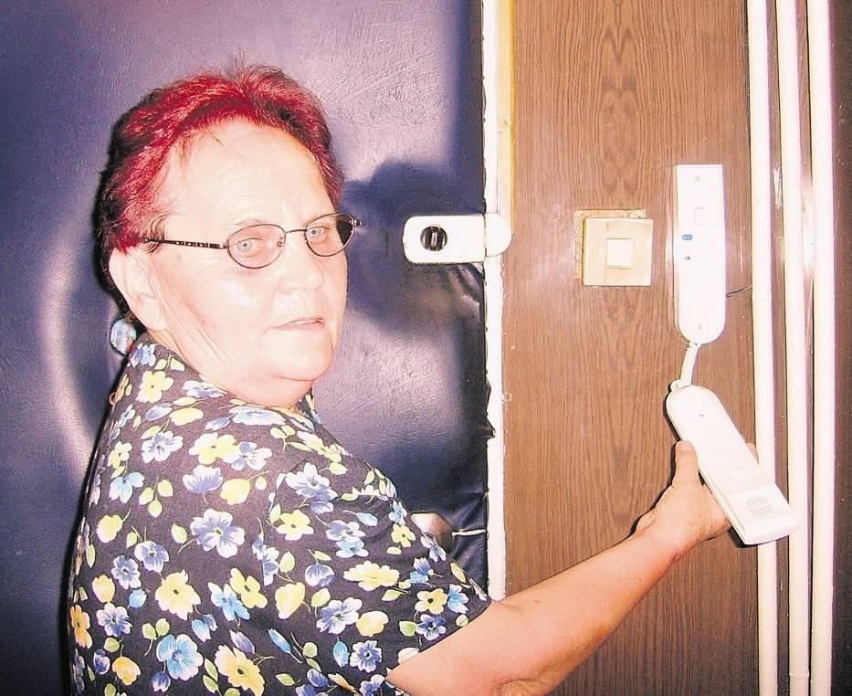 Barbara Bubak nie zamierza korzystać z nowego domofonu