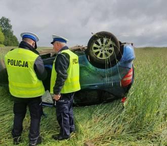 Tragiczny wypadek w gminie Trzemeszno. Zginął mieszkaniec powiatu żnińskiego [zdjęcia]