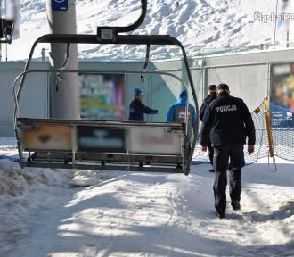 Dwaj pracownicy spadli z wyciągu na Soszowie