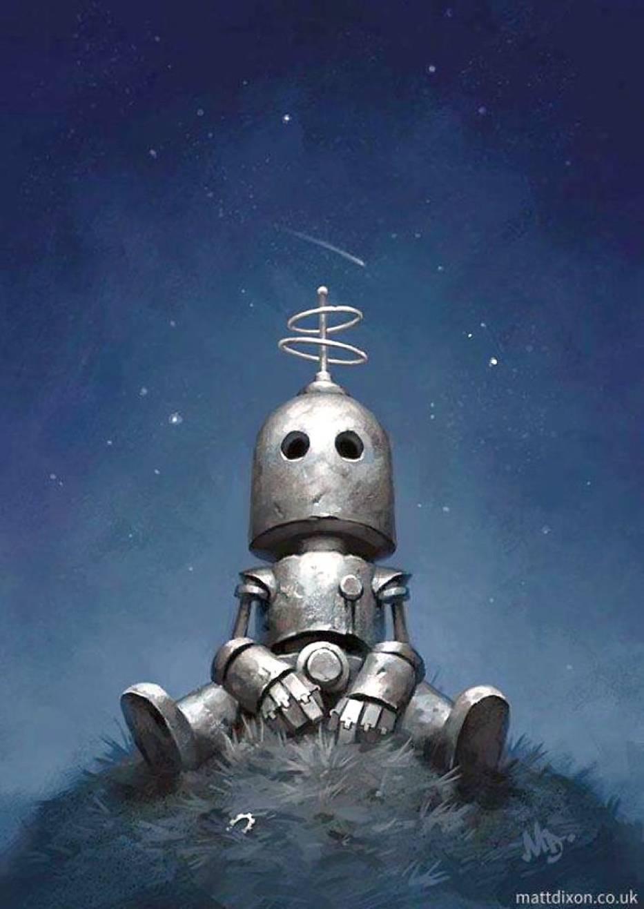 Samotne roboty