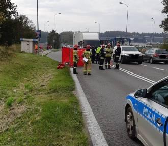 Tragedia w Rekowie Górnym: na DW 216 zginęła kobieta (25.09.2019)
