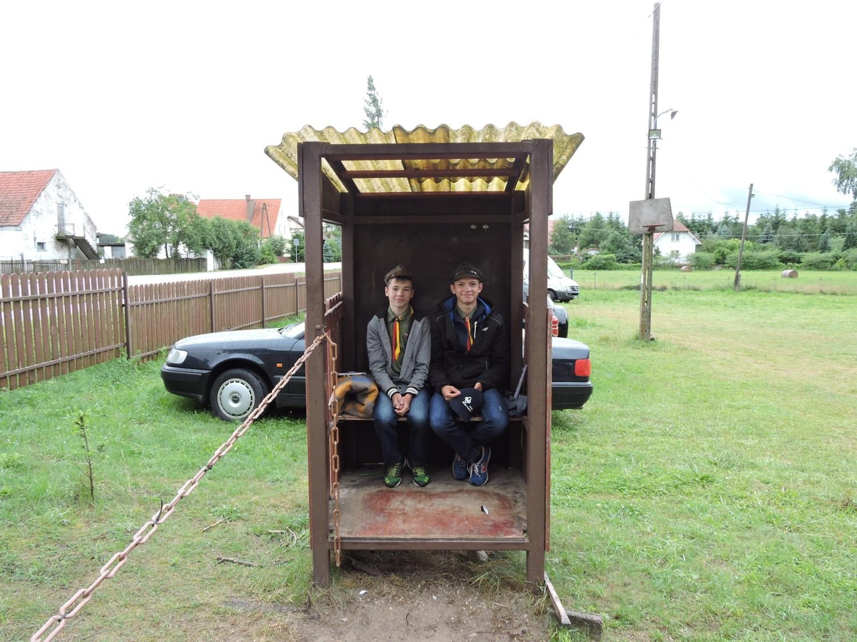 Harcerski obóz żeglarski w Rydzewie