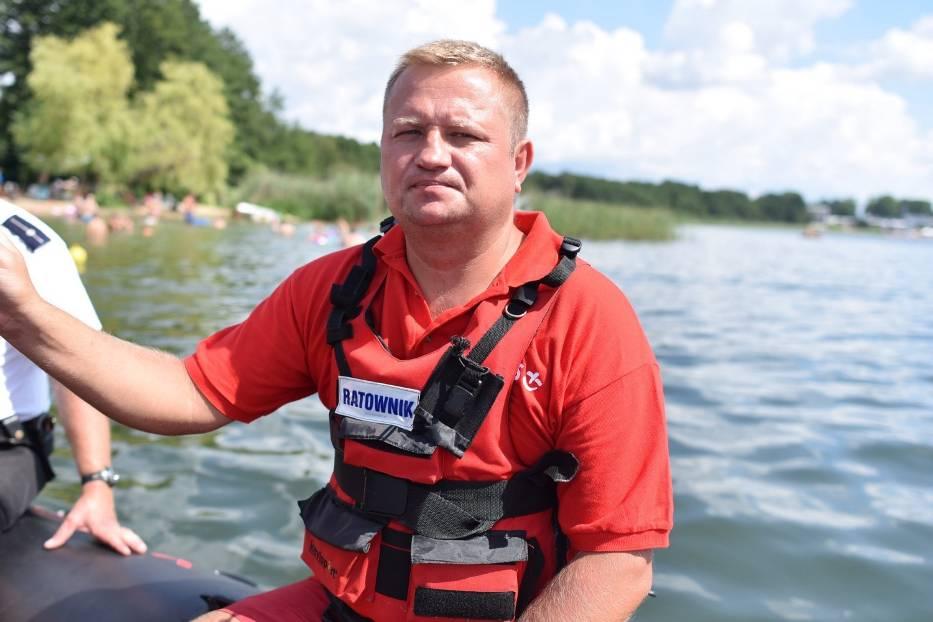 Ratownik WOPR z Leszna uratował tonącego  11 letniego Fabiana, ale nie czuje się bohaterem