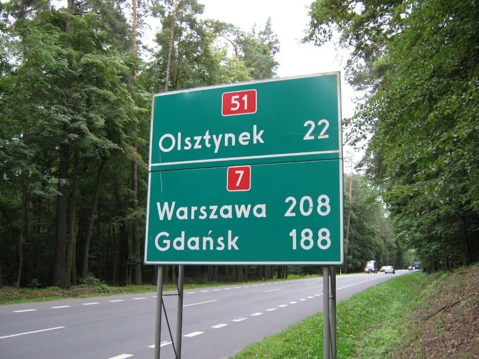 Z rogatek Olsztyna do Warszawy jest ponad 200 kilometrów - dziś na ich pokonanie potrzeba blisko trzech godzin