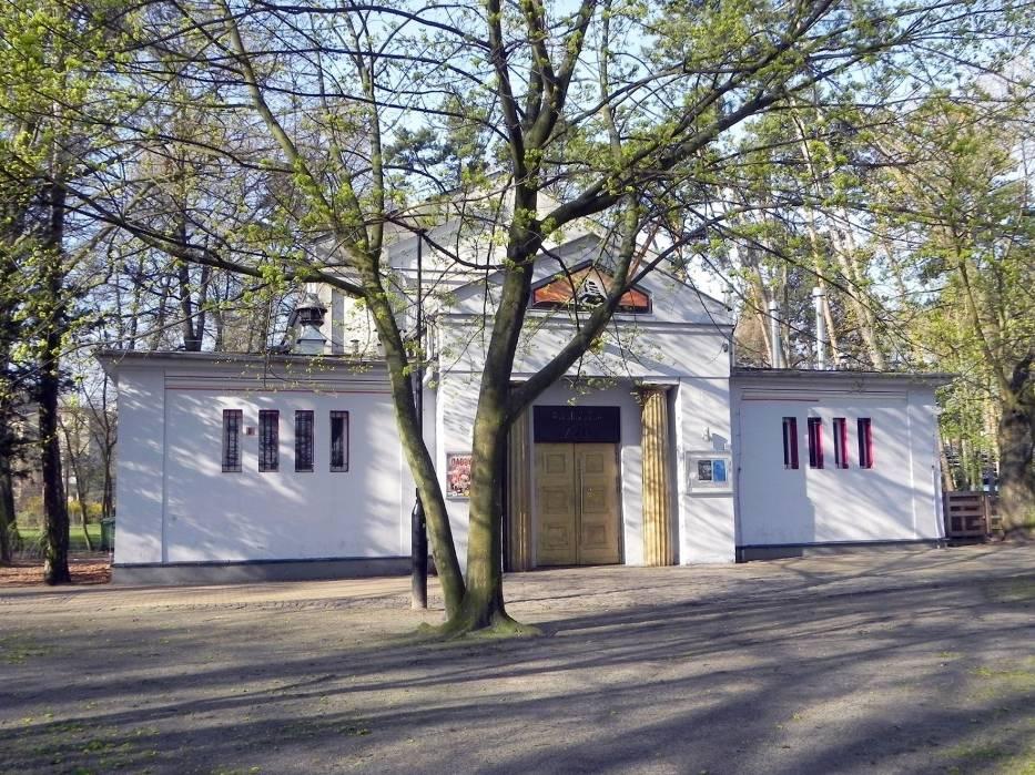 W 1911 roku zbudowano ten klasycystyczny pawilon wystawowy