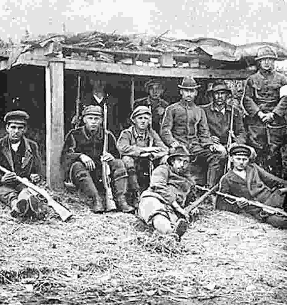 Powstańcy 1921 roku zajęli prawie cały obszar plebiscytowy