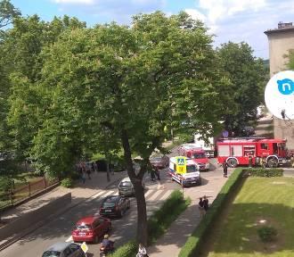 Wypadek rowerzysty w Bytomiu [ZDJĘCIA]