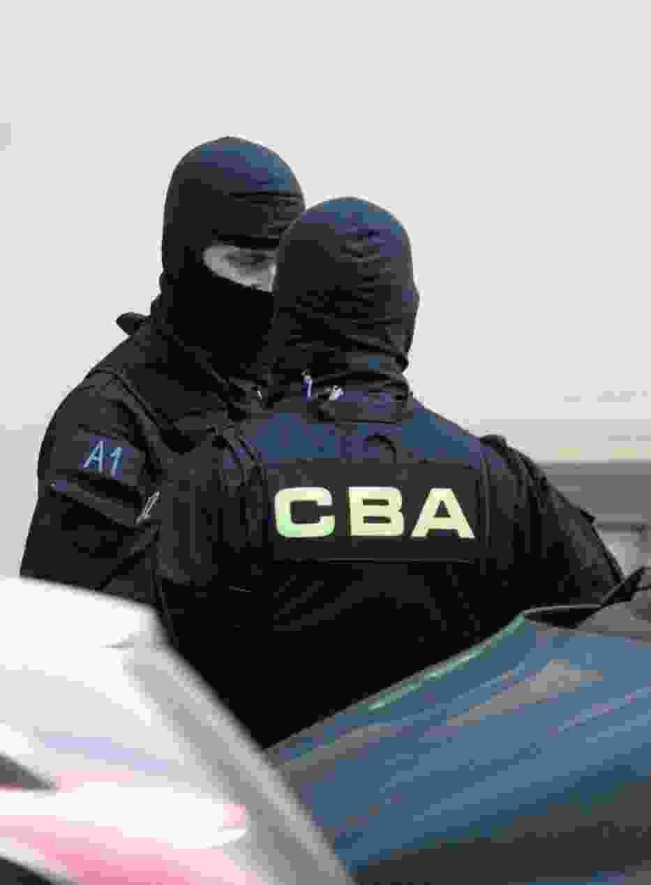 Uzbrojeni funkcjonariusze CBA weszli do klubu nocnego w centrum
