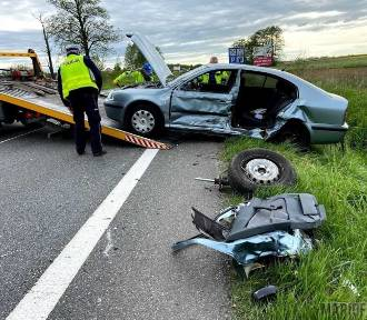 Groźny wypadek na obwodnicy Opola. Ranne cztery osoby