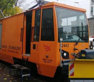 MPK-Łódź pokazało na targach dwa zbudowane przez siebie wagony techniczne
