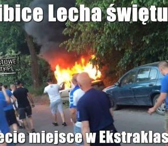 Memy po meczu Lech - Legia. Internet śmieje się z Kolejorza [ŚMIESZNE OBRAZKI]