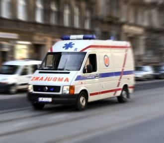 Koło Polkowic Tir potrącił 23-latka