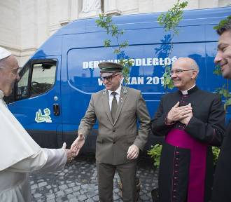 Śląskie dęby poświęcił sam papież Franciszek
