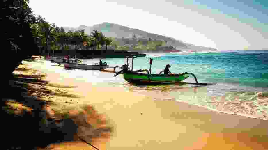 Plaża na Bali w Indonezji