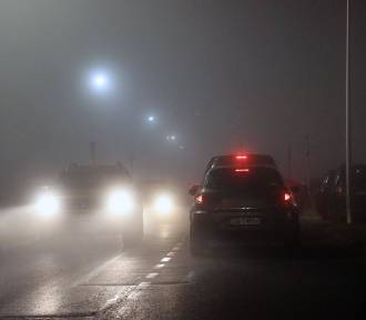 Opolski sylwester i Nowy Rok we mgle. Ślisko na drogach