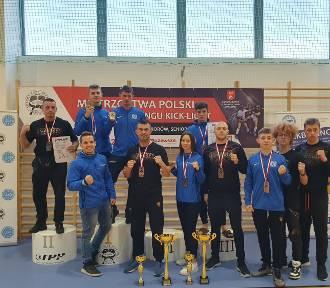 7 medali dla kartuskich kickbokserów - Kryszewski i Wilczewski najlepsi w kraju