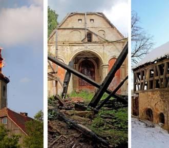 Zabytkowy kościół w Zatoniu koło Bogatyni od dekady popada w ruinę