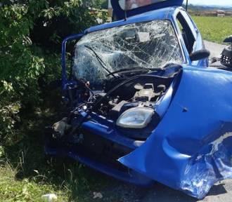 Poważny wypadek pod Tarnowem, są ranni