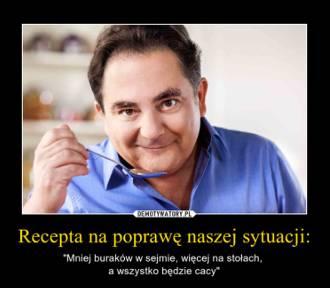 Kucharz Robert Makłowicz to król memów. Zobaczcie!