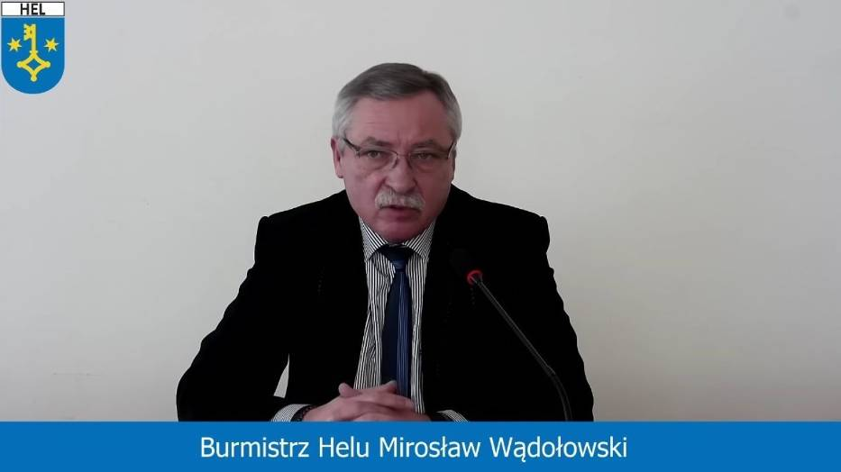 Burmistrz Mirosław Wądołowski