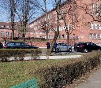 Zderzenie trzech samochodów w Gorzowie