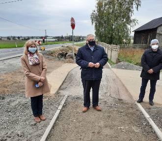 Droga Kalisz - Turek będzie bezpieczniejsza. Zmiany na skrzyżowaniu w Skarszewie