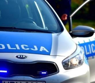 Dachowanie na drodze Lublin-Kraśnik. Trzy osoby ranne