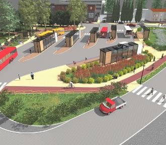 Nowy dworzec i wielki parking w Mikołowie. Oto centrum przesiadkowe WIZUALIZACJE