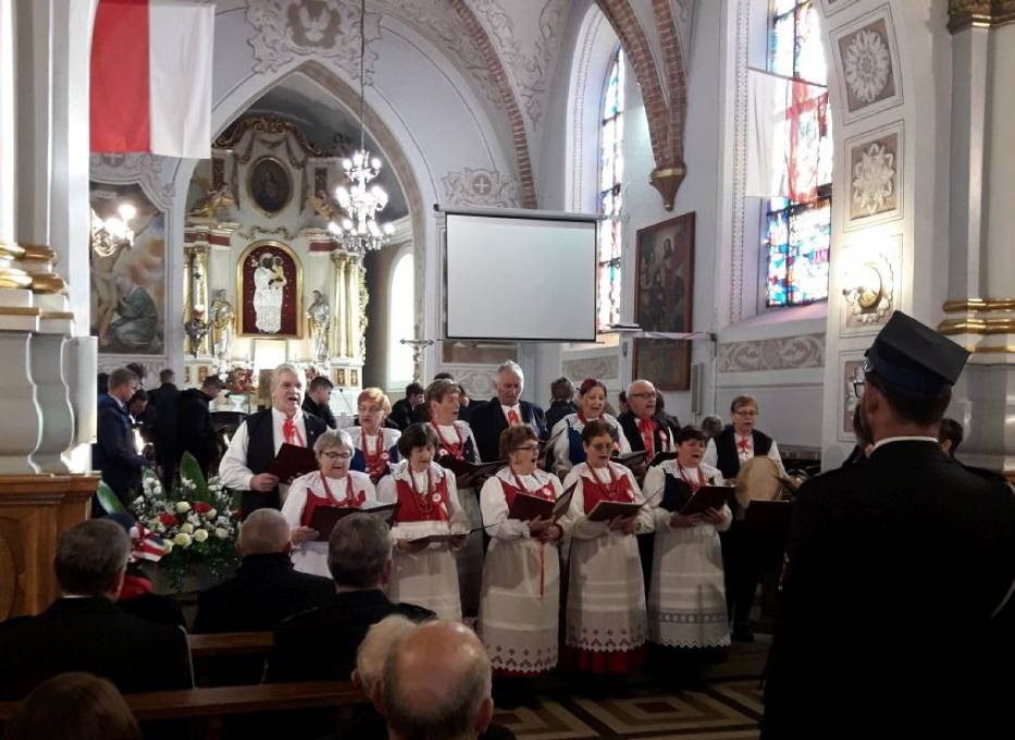 Święto Niepodległości w Koźminku. Wystawa, koncert i msza święta Z