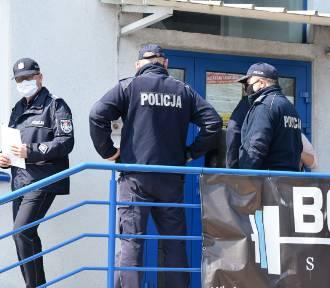 Interwencja policji w Body Art w Wieluniu. Siłownia od dziś otwarta ZDJĘCIA, FILMY