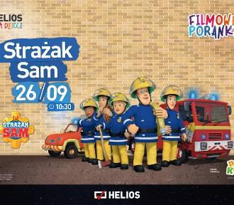 """Wyjątkowy Filmowy Poranek w  """"Heliosie"""". Dzieci będą mogły zwiedzić wóz strażacki!"""