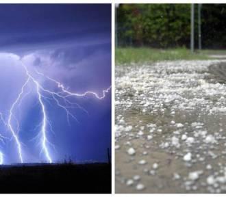 Uwaga. Idą potężne burze na Dolny Śląsk. Zagrożony Wałbrzych, Świdnica, Jelenia Góra, Kłodzko...
