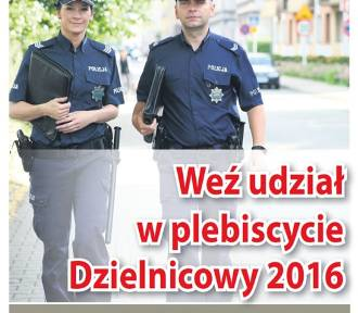 Najpopularniejszy Dzielnicowy województwa śląskiego 2016