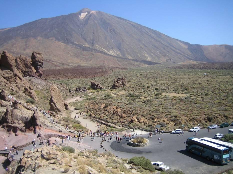 W samym sercu parku u stóp El Teide 3718 m n