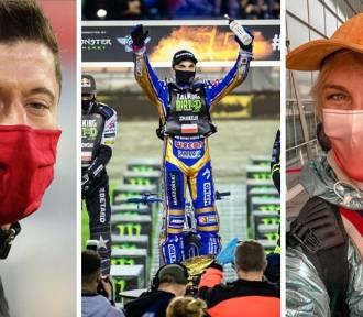 Sportowcy, aktorzy i celebryci pokazują swoje ZDJĘCIA w maseczkach i apelują do fanów