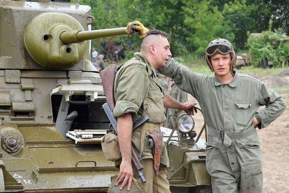 Good Morning Dęblin. Rekonstrukcja forsowania Renu 1945