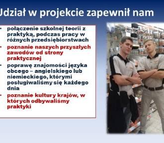 Uczniowie ZSP nr 3 w Malborku podsumowali swój udział w zagranicznych stażach zawodowych