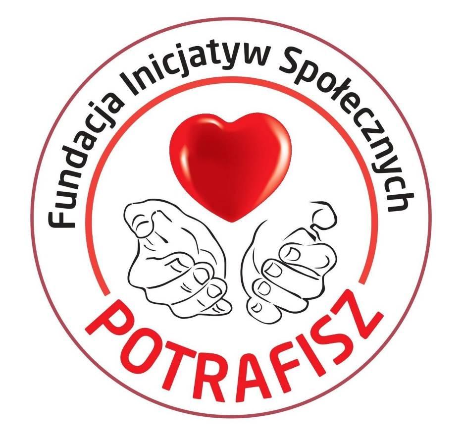"""Logo Fundacji Inicjatyw Społecznych """"Potrafisz"""""""