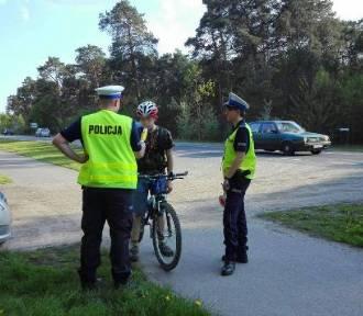 Policjanci z Brodnicy zatrzymali dwóch pijanych rowerzystów przy ul. Granicznej
